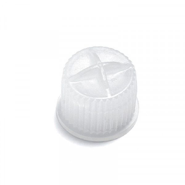CAP FOR DIALYZER CONNECTORS